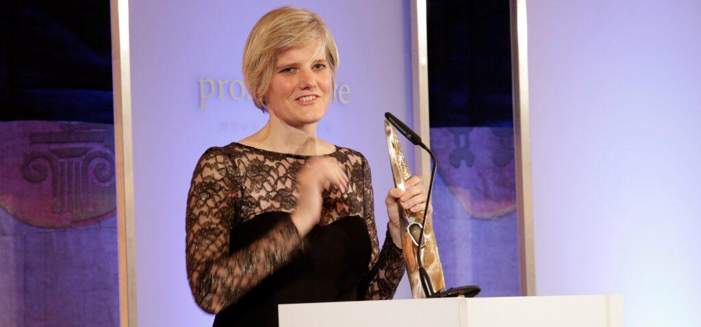 Dr. Petra Wendler ist Preisträgerin des Care-for-Rare Science Awards 2014