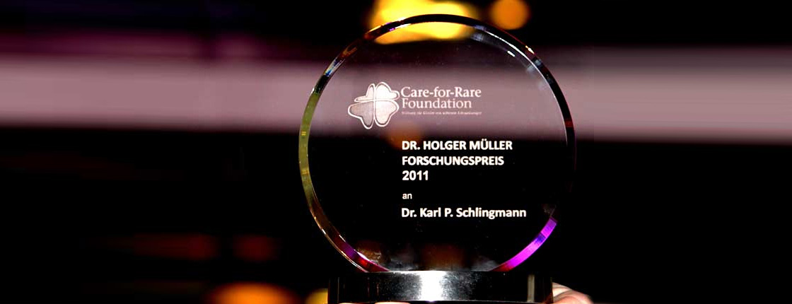 Care-for-Rare Foundation für Kinder mit seltenen Erkrankungen
