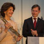 Königin Silvia von Schweden und Prof. Dr. Christoph Klein