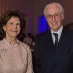 Ihre Majestät Königin Silvia von Schweden mit S.K.H. Herzog Franz von Bayern