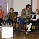 Willi Weitzel mit den Kindern Magdalena, Valentin und Sarah