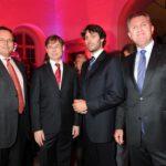 Prof. Dr. Andreas Staudacher, Prof. Dr. Christoph Klein, Prinz Ludwig von Bayern, Hubert Thaler