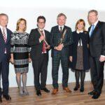 Prof. Dr. Stefan Endres, Karin Seehofer, Dr. Dr. Michael Schmeißer, Christian Springer, Prinzessin Ursula von Bayern, Staatsminister Dr. Marcel Huber