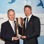 Zwei Science Award Preisträger: Prof Dr. Dirk Niessing und Prof. Dr. Tobias Hirsch