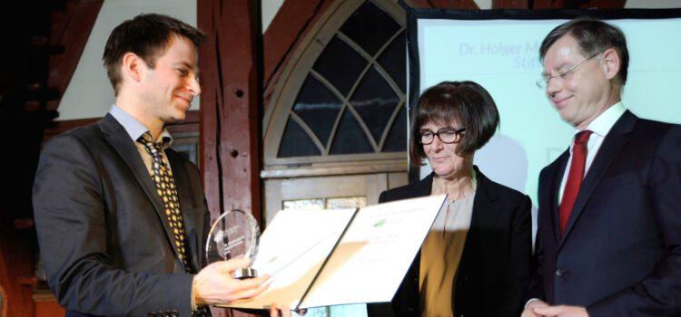 Dr. Holger Müller Preis 2016 an Charité-Wissenschaftler Dr. Peter Kühnen