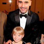 Pep Guardiola mit Sarah