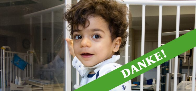 Hilfe für Kinder mit schweren Kehlkopf- und Luftröhrenerkrankungen