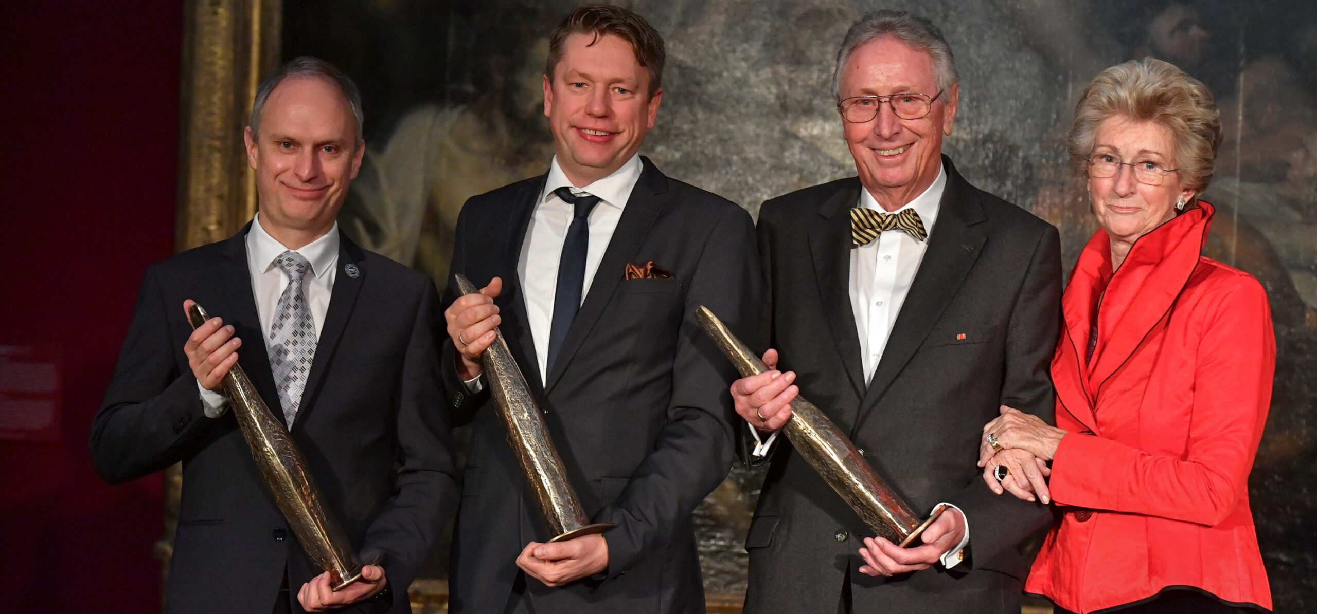 Pro.movere 2018: Preise an das Ehepaar Hector sowie an die Wissenschaftler Prof. Hirsch und Prof. Niessing