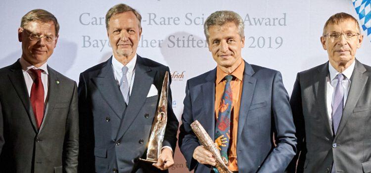 Pro.Movere 2019: Preise an Prof. Dr. Holm Schneider und Georg Randlkofer