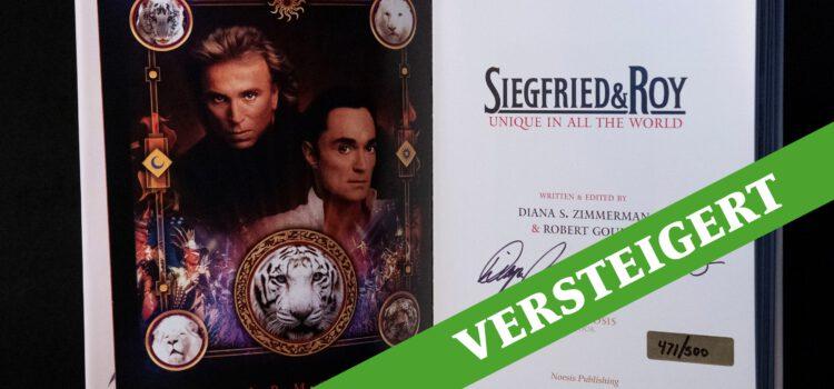 Charity-Auktion: Buch aus dem persönlichen Nachlass von Siegfried & Roy