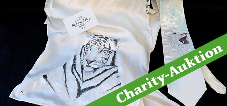 Charity-Auktion #2: Schal und Krawatte aus dem persönlichen Nachlass von Siegfried & Roy